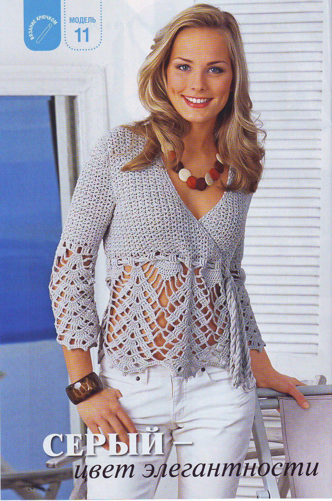 """Раздел: """"Вязание крючком для женщин """".  Пуловер. вязание спицами с описанием мужские свитера. мастер."""